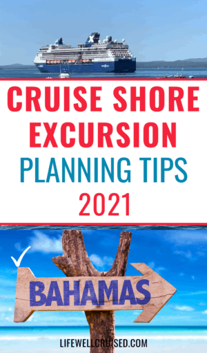 Cruise shore excursion planning tips 2021