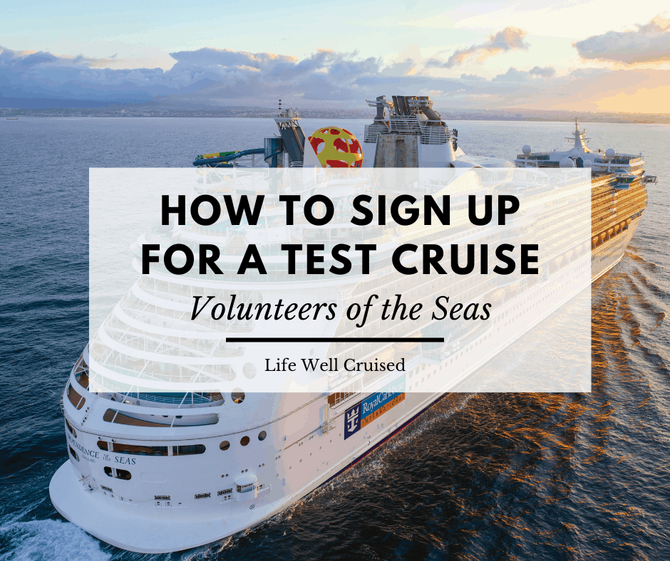 How to Sign Up for a Test Cruise – Volunteers of the Seas