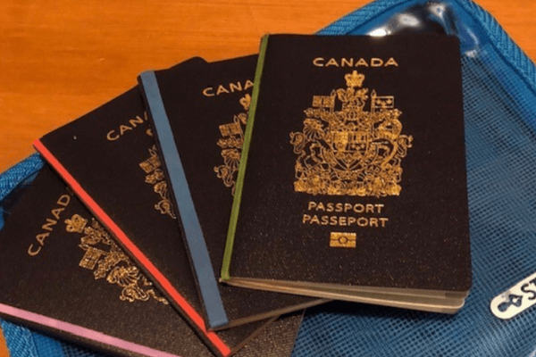 Passports for a cruise