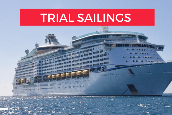 Trial sailings How cruises will start up at beginning