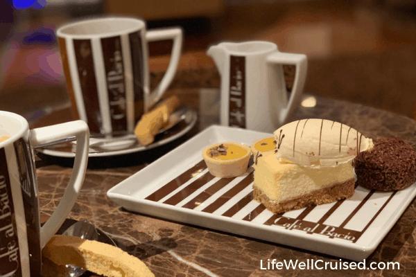 celebrity cruises cafe al bacio lifewellcruised