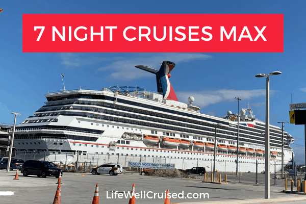 new cdc cruise rules 7 night cruises maximum