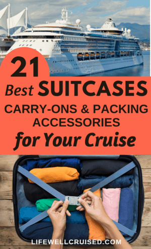 21 best suitcases and accessories for a cruise