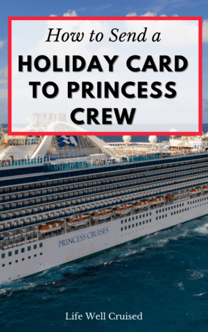 How to Send a Holiday Card to Princess Crew PIN