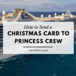 How to send christmas card to Princess Crew