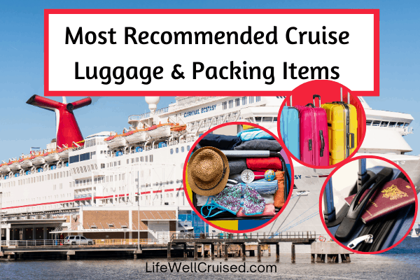 best cruise luggage and packing items