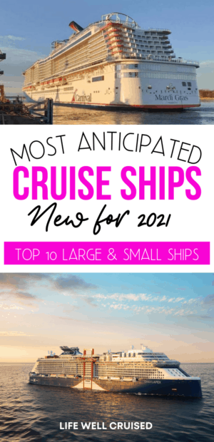 cruise ships new for 2021