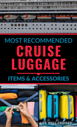 most recommended cruise luggage