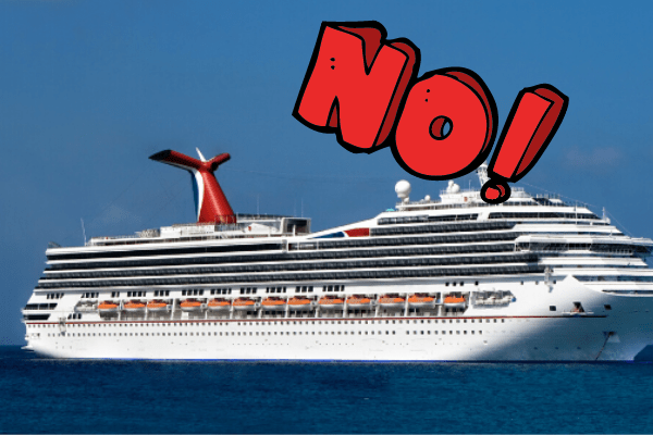 things not to do on a cruise