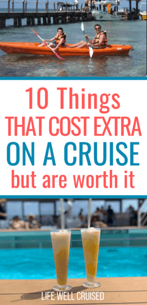 10 Things that cost extra on a cruise but are worth it