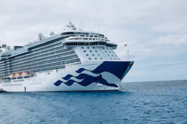 Regal princess cruise ship ocean medallion