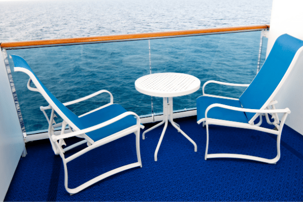 cruise ship balcony an extra that's worth it