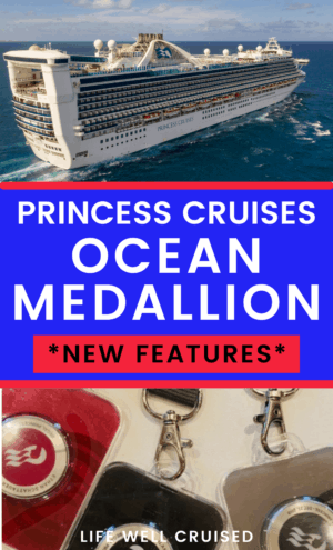 princess cruises ocean medallion new features