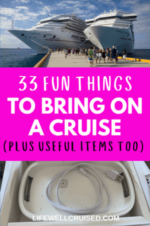 33 fun things to bring on a cruise plus useful tech and cruise gear