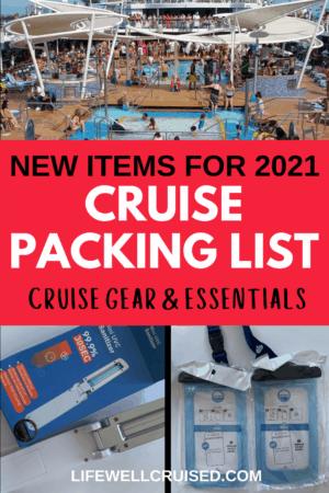 new cruise essentials 2021
