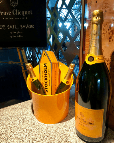 Norwegian Premium Plus Beverage Package champagne