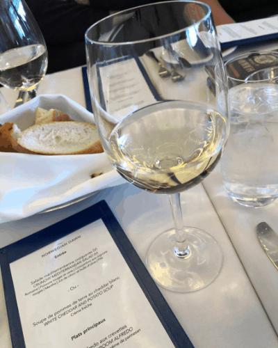 Norwegian cruise line beverage package wine