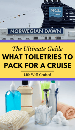 What Toiletries to Pack for a Cruise Guide