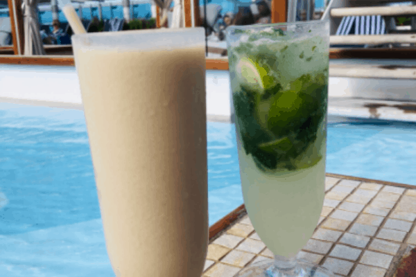 tips charged oncruise drinks