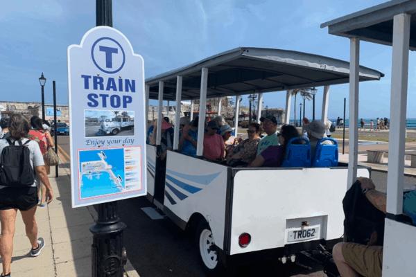 Bermuda Dockyard Trolley
