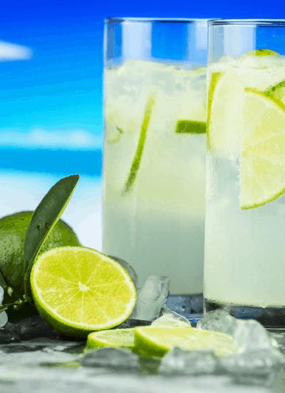 Lemon water prevent swollen legs on a cruise