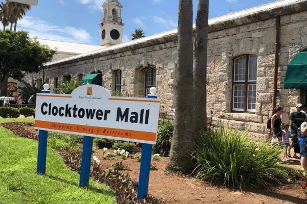 bermuda clocktower mall dockyard