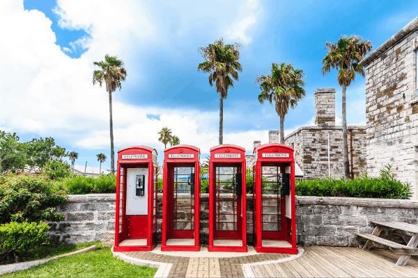 bermuda royal naval dockyard phone booths