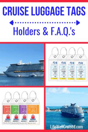 cruise luggage tag holders FAQ's
