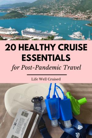 healthy cruise essentials