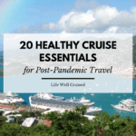 healthy cruise essentials for post pandemic travel