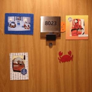cruise door decorating with photos