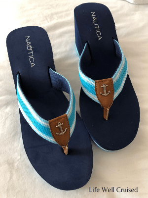 cruise shoes sandals