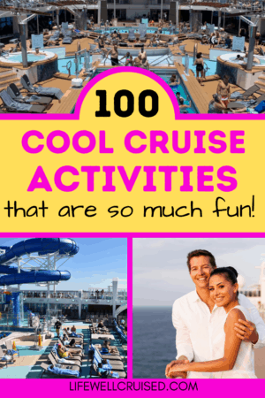 100 Cool Cruise Activities