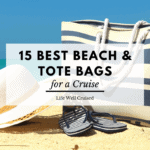 Best beach and tote bags for a cruise