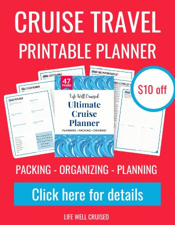 Cruise Travel Planner (printable)