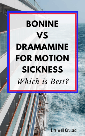 Bonine VS Dramamine for Motion Sickness - Which is Best