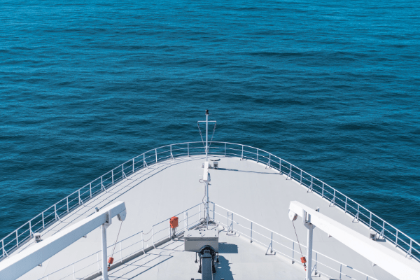 Starboard or Port Side - Cruise ship bow