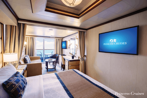 Princess Cruises Mini Suite Stateroom