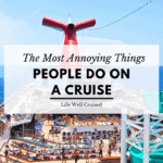 The Most Annoying Things People Do on Cruises (crowed Carnival ship)