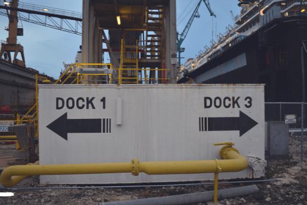 cruise ship dry dock
