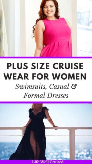 Plus Size cruise wear for women