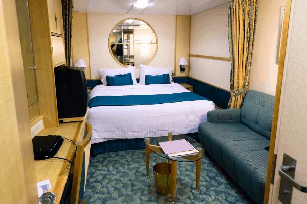 cruise ship inside cabin